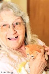 Carlene & Kitten