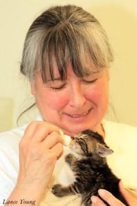 Charlene & Kitten